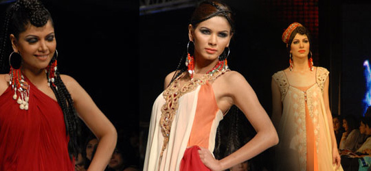 Asifa & Nabeel Collection at Lahore Fashion Week 2010