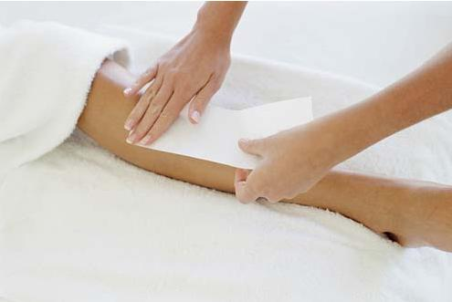 Painless Leg Hair Waxing