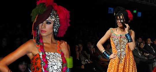 Nickie Nina Collection at Lahore Fashion Week 2010