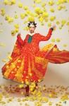 Nisha Lawn Prints 2010 Anar Kali