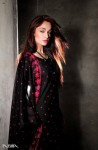 Nisha Lawn Prints 2010 Black