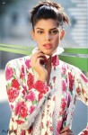 Nisha Lawn Prints 2010 Red Flower