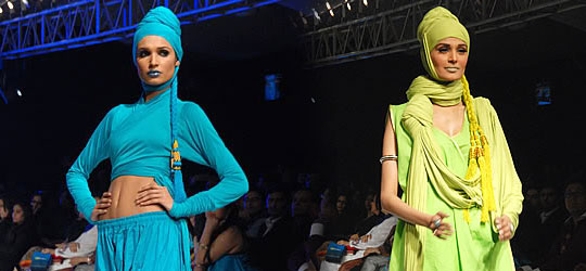 YQB's Collection at PFDC Fashion Week