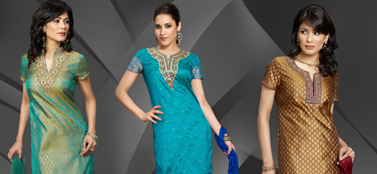 Indian Churidar Suits, Chudidar Kameez and Salwar Kurta Ready To