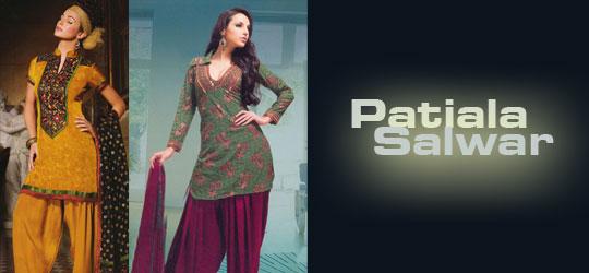 Patiala Salwar Suits Exposure