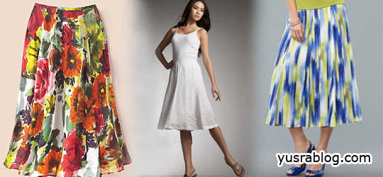 Gorgeous A-Line Dresses and Skirts
