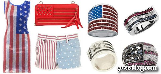 American Flag Fashion and Accessories