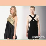 Antique Lace Stich Dresses