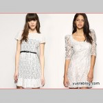 Asian White Lace Dress Trend