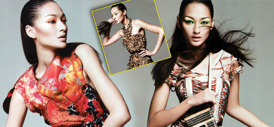 Brazilian Model Bruna Tenorio by Ishi in Decori – Amica May 2010