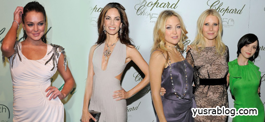 Celebrities Attend Chopard 150th Anniversary Party at 63rd Cannes Film Festival