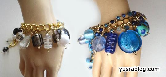 Trendy Chunky Charm Bracelets 2010
