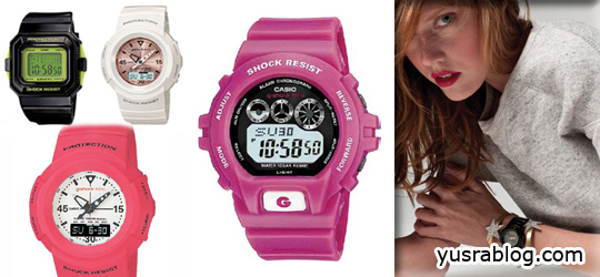G Shock Mini Plastic Watches | Trendy Colorful Fashion