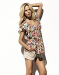 H&M Collection Spring 2010 Flowers Tunic Shorts