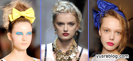 Hair Accessories Trends 2010 for Girls and Women