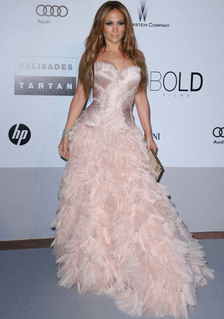 jennifer lopez dresses 2010. Jennifer Lopez strapless gown