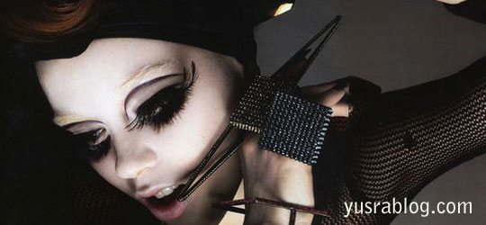 Glamour of Judith Bedard for Vogue Nippon April 2010