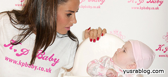 Katie Price Launches New KP Baby Clothes Line in Birmingham