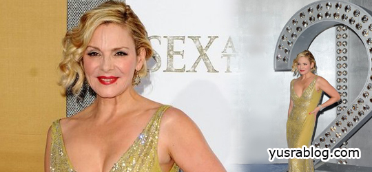 Kim Cattrall Shines at Sex And The City 2 New York Premiere