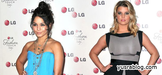 LG Fashion Touch Party in West Hollywood | Eva Longoria Parker & Victoria Beckham Hosts