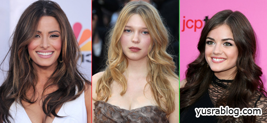 Celebrity Long Hairstyles, Haircuts 2010 for Prom