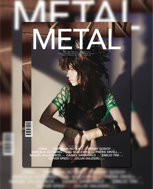 Canadian Model Meghan Collison | Metal #20 Summer 2010