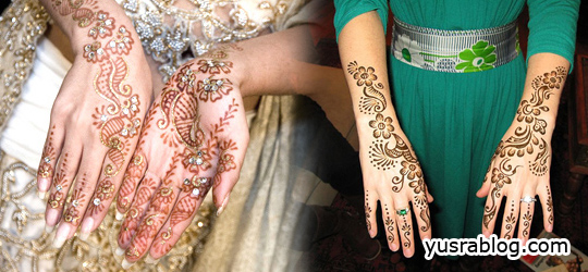 Refreshing Arabic Mehndi Designs for Hand