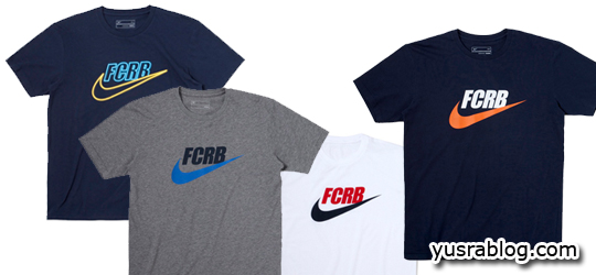 F.C.R.B. x Nike Sportswear | Swoosh T-Shirt Collection 2010