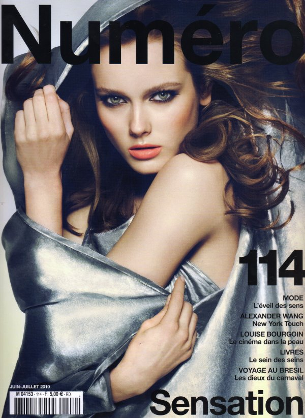 Monika Jagaciak Face of Numéro #114 June/July 2010 Cover