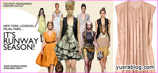 The Outnet's Runway Season Special Trendy 2010