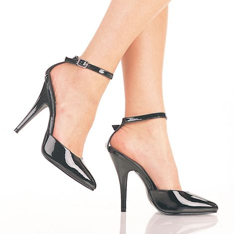 Flat Closed Toe Shoes With Ankle Strap