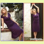 Purple Ballerina Dress Simple