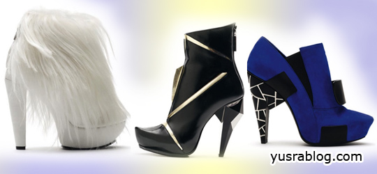 Raphael Young Sculptural Star Wars Shoes For Fall/Winter 2010/2011