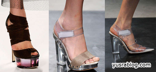 High Heel Shoes Spring/Summer 2010 – The Matter of Transparent