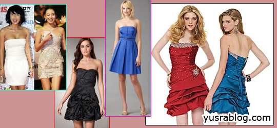 Fabulous Strapless Prom Dresses Trends 2010