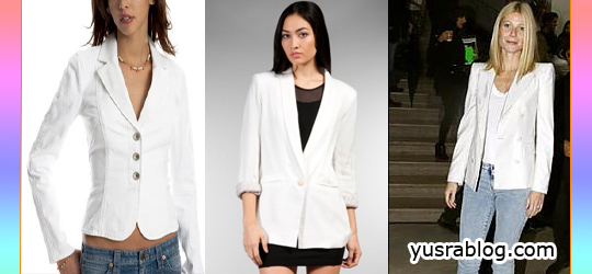 Summer Trendy Fashion Must-Have White Blazer