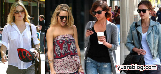 Celebrity High Street Fashion | Jessica Alba, Sarah Jessica Parker and more