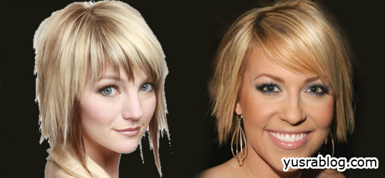 Stylish Medium Choppy Hairstyles 2010