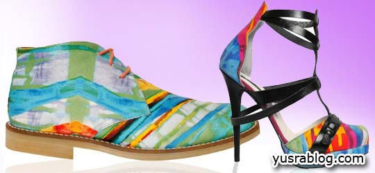 Colorful Footwear Men and Women Shoes Ana Locking 2010-11 Collection