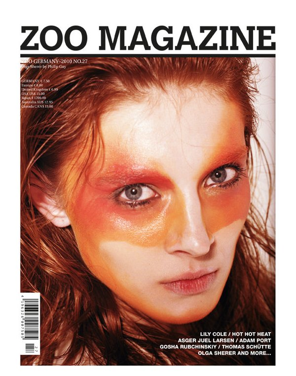 ZOO Magazine GERMANY_2010 No.27 in Summer Covers | Olga Sherer and Lily Cole