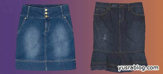 Ten Denim Jeans Stylish Trendy Minis