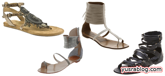 Gladiator Sandal Trends 2010