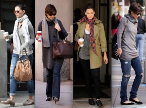 Katie Holmes Street Style on Katie Holmes Fancy Dresses And Style