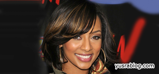 Stylish Keri Hilson Hairstyles 2010