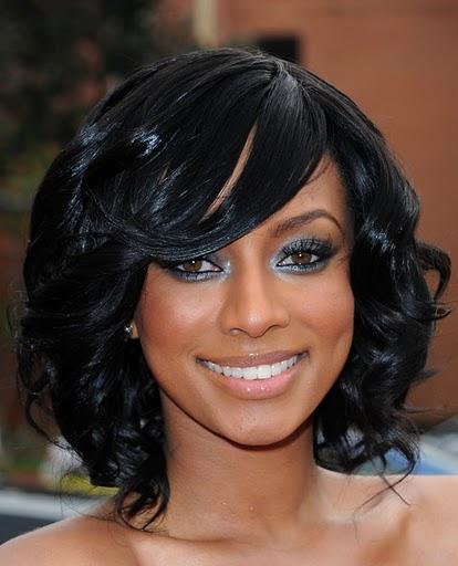 Keri Hilson Hairstyles Keri Hilson Medium Curls