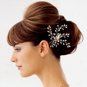 elegant updo hairstyles for weddings. a wedding up do hairstyle