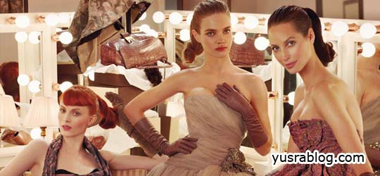 Christy Turlington, Natalia Vodianova, Karen Elson in Louis Vuitton Fall 2010 Campaign | by Steven Meisel