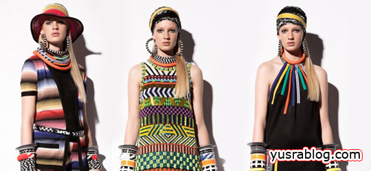 Missoni Cruise 2011 Colorful Dress Collection