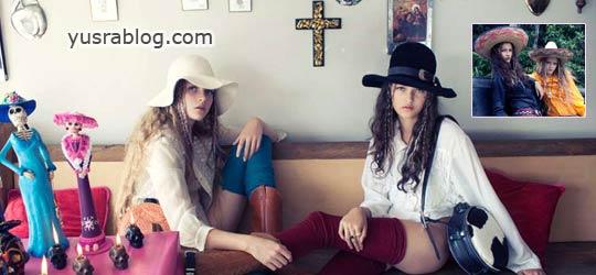 Ella and Imogen Teens for No.Magazine Issue #10 by Karen Inderbitzen Waller