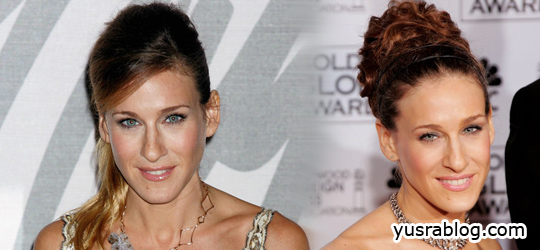Different Hairstyles of Sarah Jessica Parker